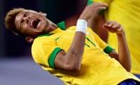 Momento em que Neymar é baleado, de acordo com seu Instagram