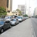 Motoristas paralisaram o trânsito, abdicando do direito de ir e vir em nome do direito de ir e vir