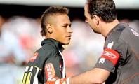 Neymar e Luciano Huck já ensaiam cenas de ação