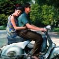 Única foto do casal, tirada no momento em que se dirigiam ao terreno baldio