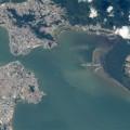 Nas imagens, é possível compreender o sistema de transporte coletivo da Grande Florianópolis