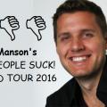 Cartas da turnê já foi divulgado no Facebook