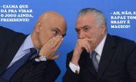 Alexandre de Moraes e Michel Temer (Foto: Agência Brasil)